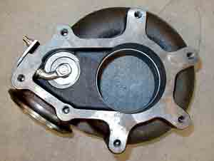 7.3 Turbo exhaust housing